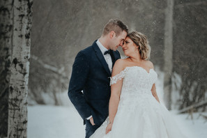 LLOYDMINSTER WEDDING PHOTOGRAPHER | KHAYLIA AND SHAWN