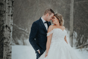 LLOYDMINSTER WEDDING PHOTOGRAPHER | KHAYLIA AND SHAWN