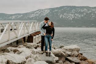 RALPH AND JOSEE | KELOWNA COUPLES PHOTOGRAPHER
