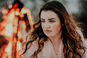 STYLED FIRE PORTRAIT SESSION | LLOYDMINSTER, AB