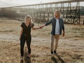 JENNA & JORDAN | WAINWRIGHT ENGAGEMENT PHOTOGRAPHER