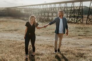 JENNA & JORDAN   WAINWRIGHT ENGAGEMENT PHOTOGRAPHER