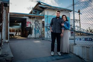 KATIE AND LEVI | SALTON SEA COUPLES PHOTOGRAPHER