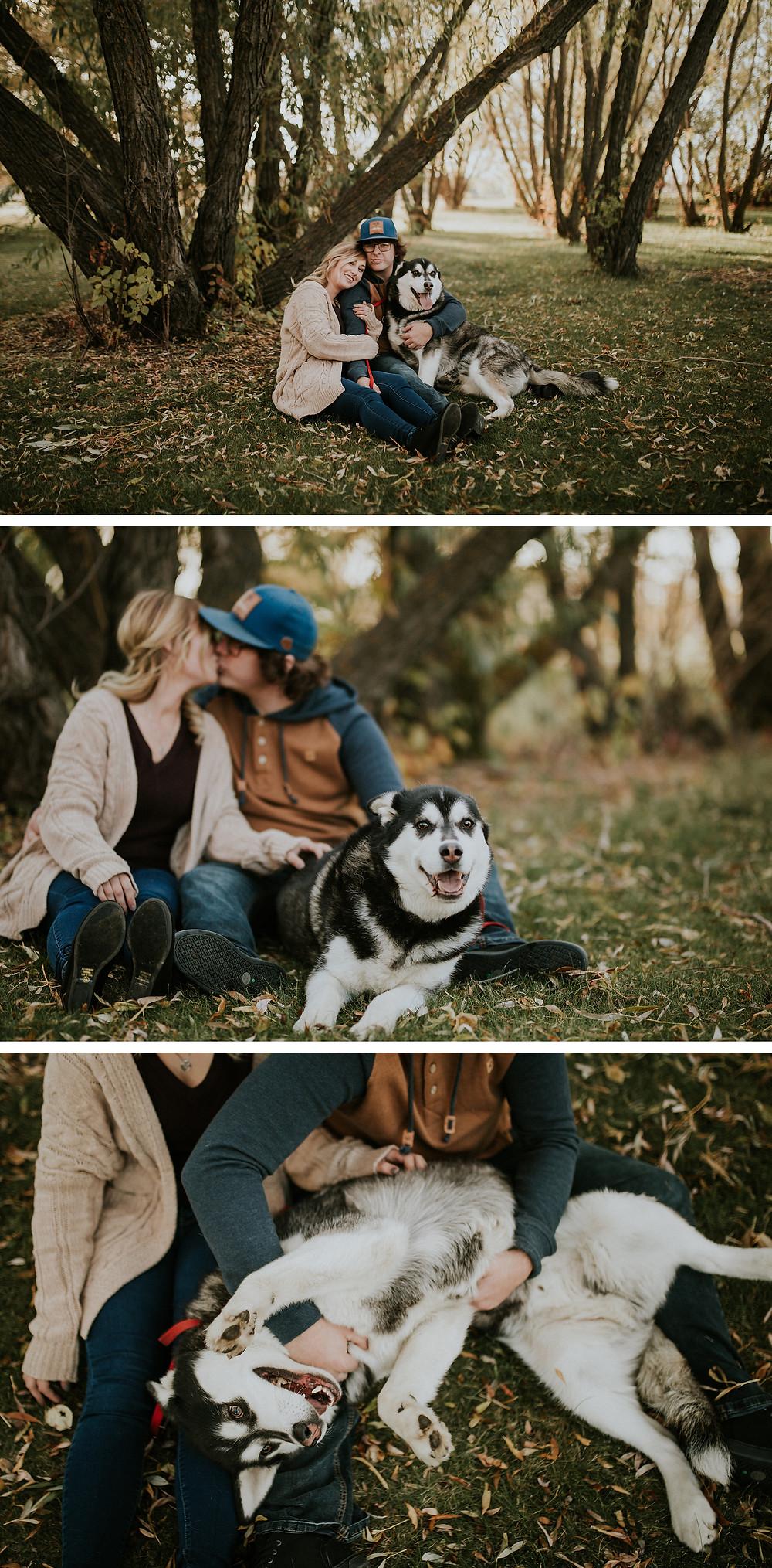lloydminster engagement photographer