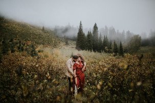 NATASHA AND REY | EMERALD LAKE YOHO NATIONAL PARK | COUPLES PHOTOGRAHY