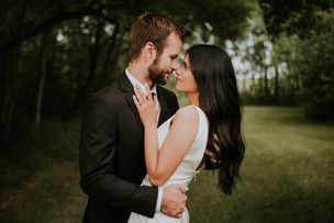 LLOYDMINSTER WEDDING PHOTOGRAPHER | MITCH & EZZAH