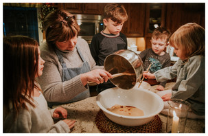 BAKING AT GRANDMA'S | LLOYDMINSTER FAMILY DOCUMENTARY SESSION