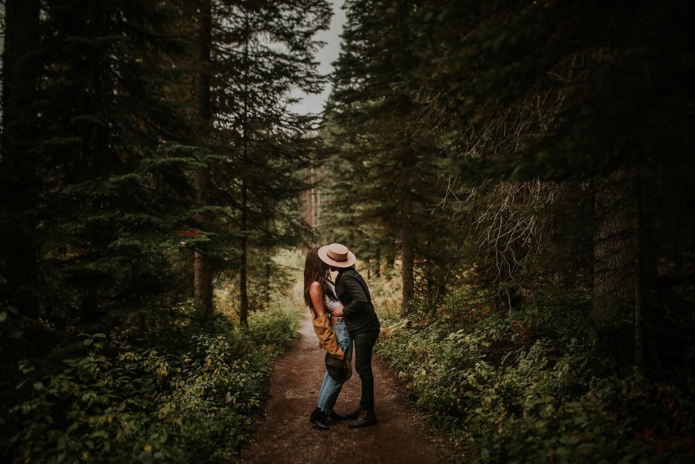 GOLDEN, BC COUPLES PHOTOGRAPHER