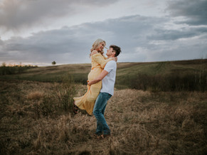 LLOYDMINSTER COUPLES PHOTOGRAPHER | NOAH AND BRENNA