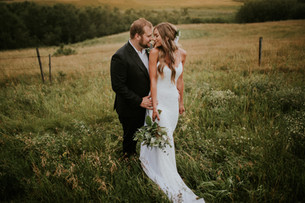 LLOYDMINSTER WEDDING PHOTOGRAPHER | IZABELL AND CHRIS