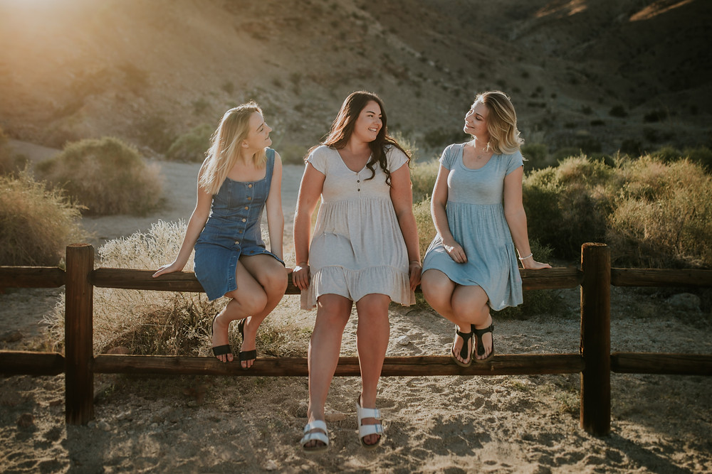 PALM SPRINGS PORTRAIT SESSION | PEYTON, CALLIE AND KATE