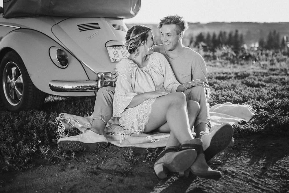 EMILY AND TYLER | 1966 VOLKSWAGEN BEETLE COUPLES SHOOT