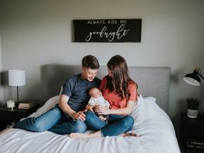 LLOYDMINSTER FAMILY PHOTOGRAPHER | THE OSMAK FAMILY | IN HOME SESSION