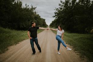 LLOYDMINSTER COUPLES PHOTOGRAPHER | BRENDAN + JENELLE