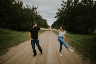 LLOYDMINSTER COUPLES PHOTOGRAPHER | BRENDAN + JENELLE
