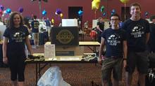 Akron Triathlon recruiting at Roo Fest!