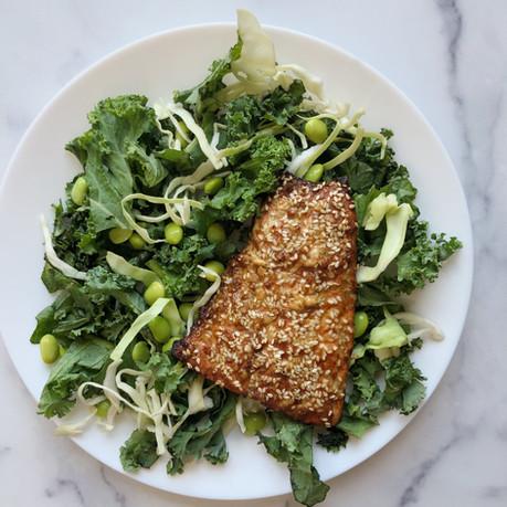 Sesame Seeded Salmon