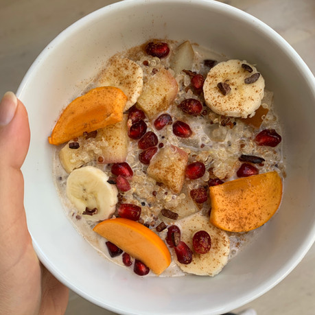 Warm Quinoa Porridge