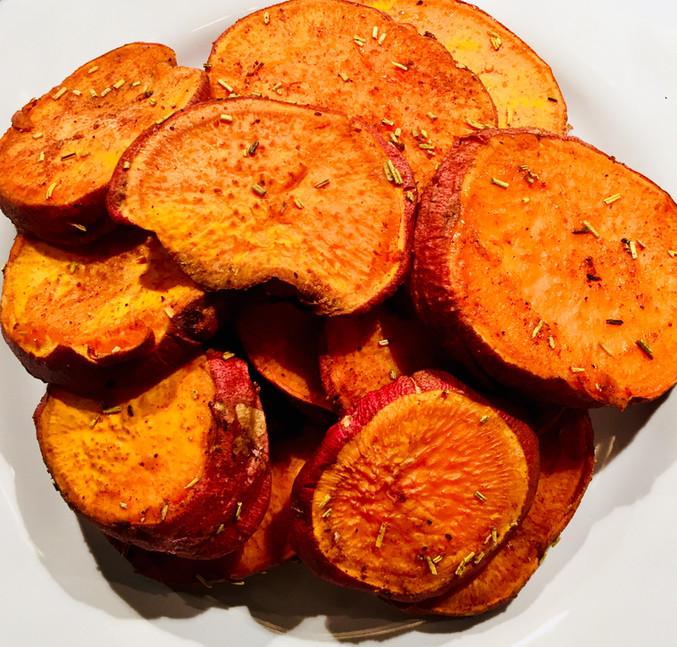 Roasted Yams: Sweet Roasted Yams