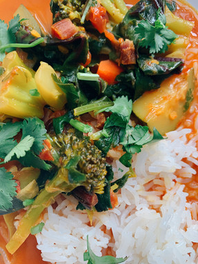Vegetable-Chickpea Curry
