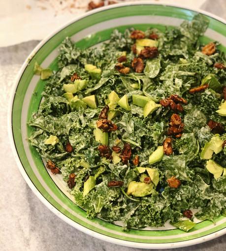 Massaged Kale Caesar