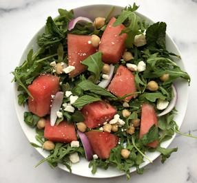 Arugula & Watermelon Salad