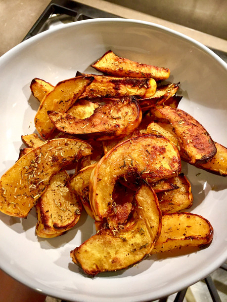 Roasted Buttercup Squash