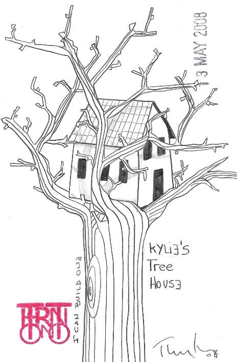 Kylie tree house