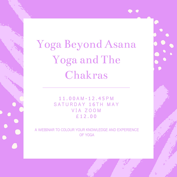 Yoga Beyond Asana Yoga and The Chakras (