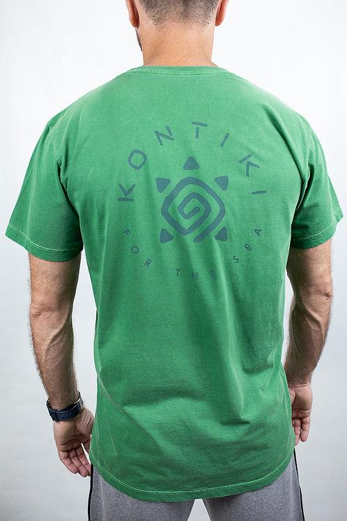 Camiseta Masculina LOGO CIRCULAR Verde