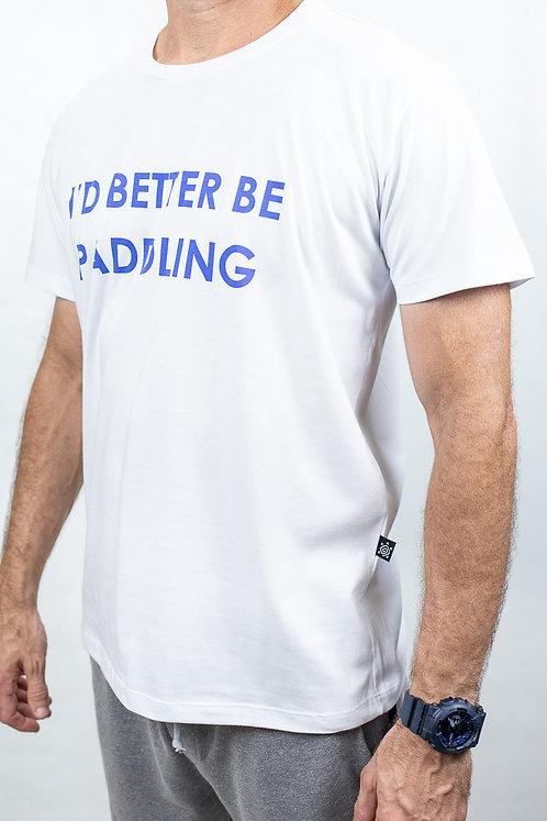Camiseta Masculina BETTER PADDLING Branca