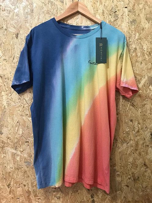Camiseta Masculina Tie Dye List