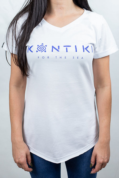 Camiseta Feminina LOGO HORIZONTAL Branca