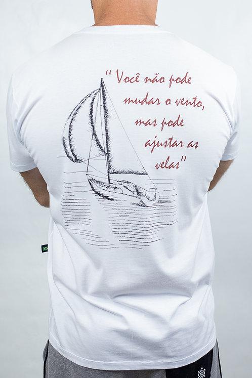 Camiseta Masculina SAILBOAT Branca