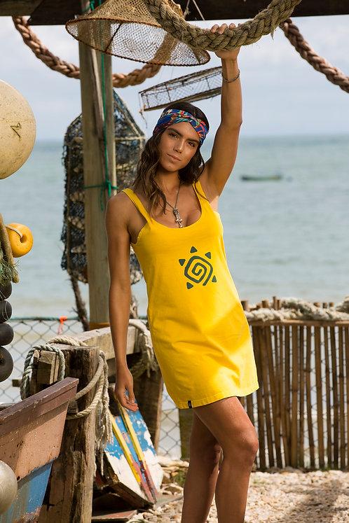 Vestido Regata SIMBOLO Amarelo