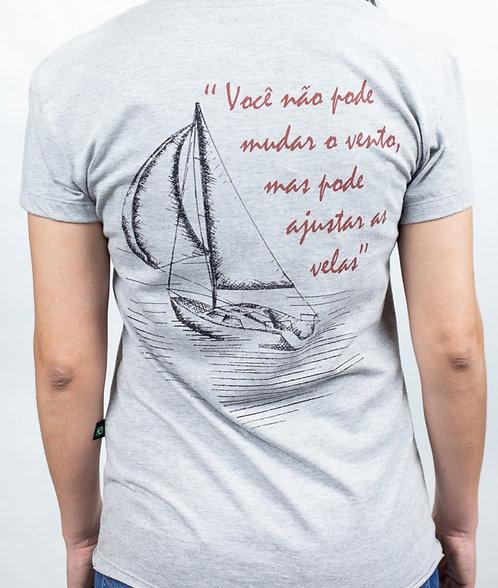 Camiseta Masculina SAILBOAT Mescla