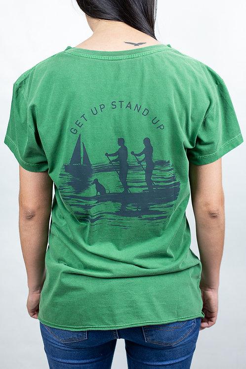 Camiseta Feminina CASAL SUP Verde