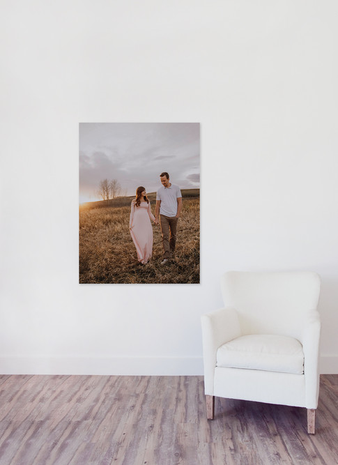 Large Vertical Canvases