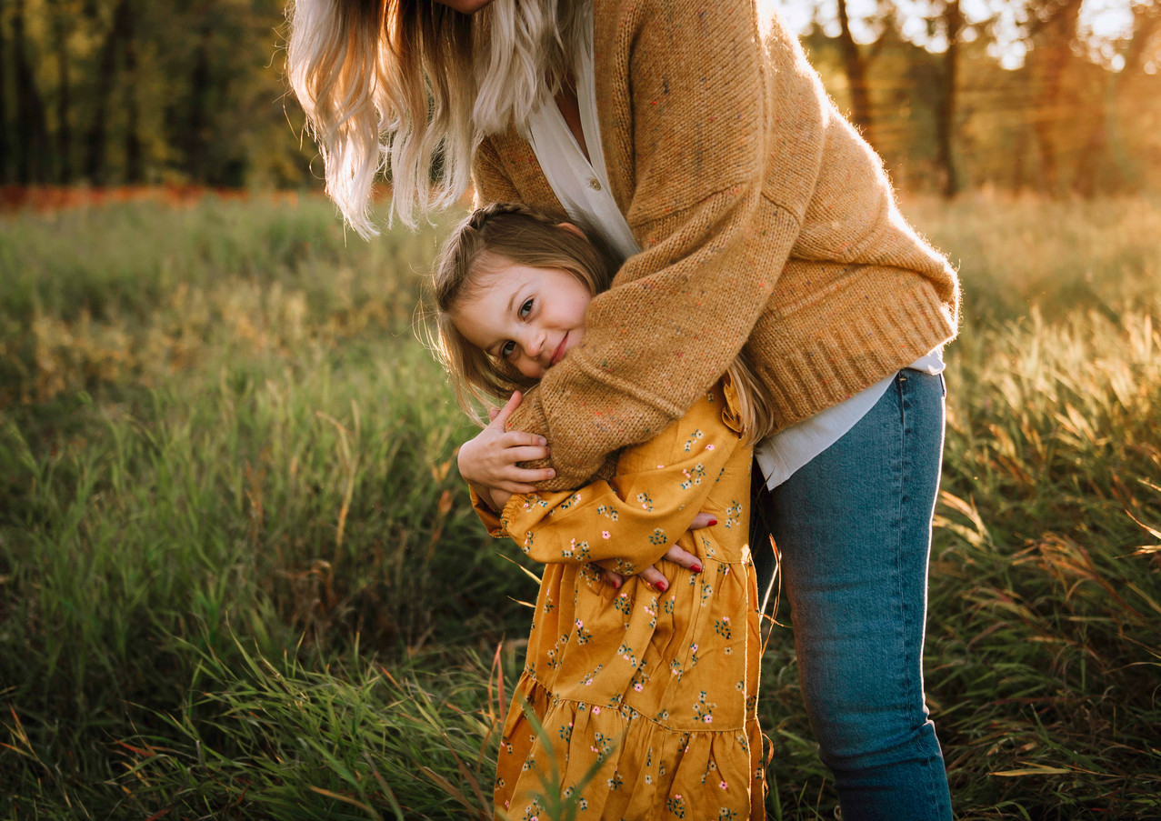 Sunset Fall Family Session