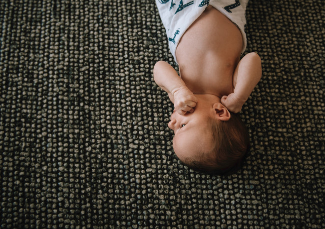 In-Home Lifestyle Newborn Session 2019