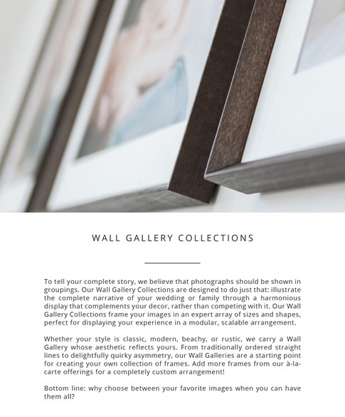 Wall Gallery Collections