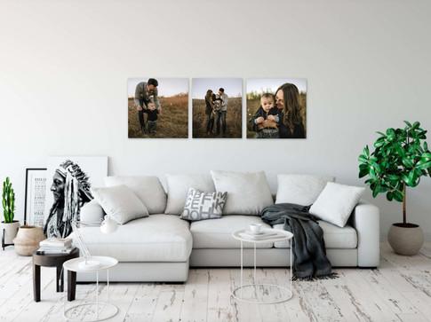 Custom Gallery Wall Design