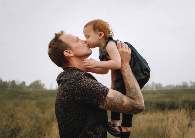 Lifestyle Portrait, Dad & Me