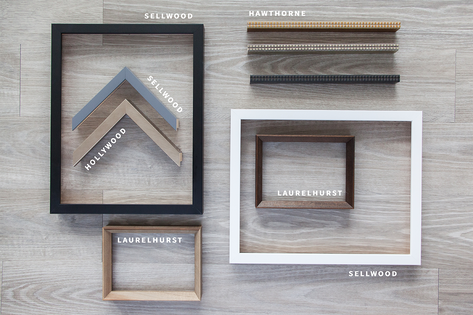 Handcrafted Frames