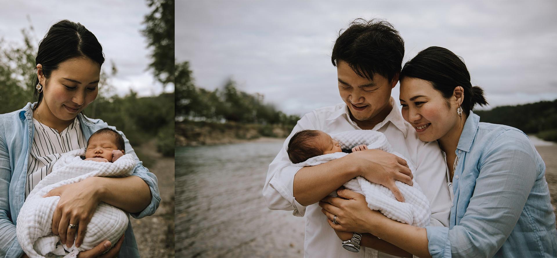 Calgary Outdoor Newborn Photographer