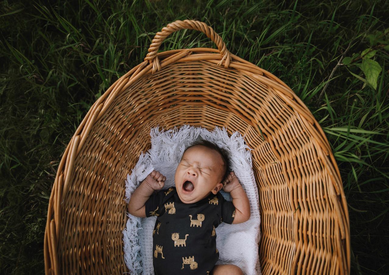 Outdoor Newborn Session 2020