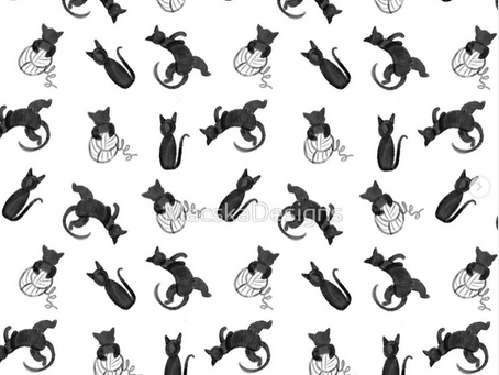 Dress Patterns - Cat Design