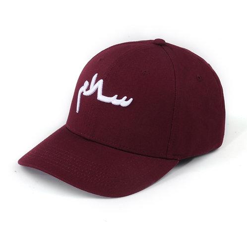 Maroon 3D Salam Cap