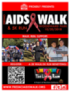 2018 Fresno AIDS Walk - Save the     Dat