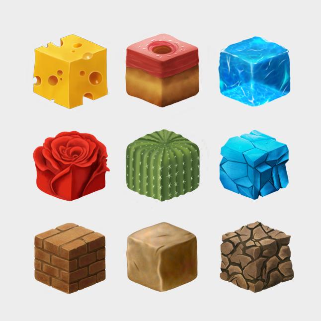 Cube Texture Study